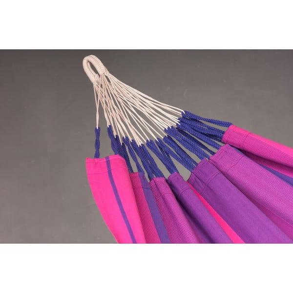 Houpací síť Orquidea pro jednoho, fialová