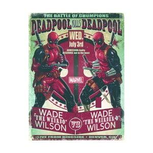 Obraz Pyramid International Deadpool Wade VS Wade, 60 x 80 cm