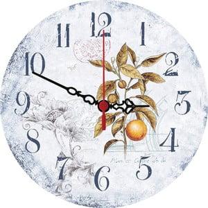 Nástěnné hodiny Orange, 30 cm