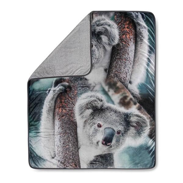 Prikrývka Muller Textiels Koala Grey, 130×160 cm