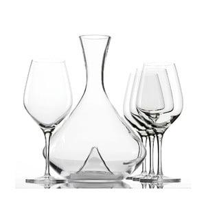 Set 4 sklenic a dekantéru na víno Exquisit
