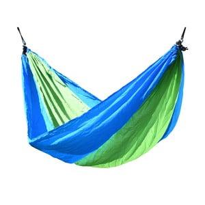 Hamac Cattara Nylon, 275 x 137 cm, verde-albastru