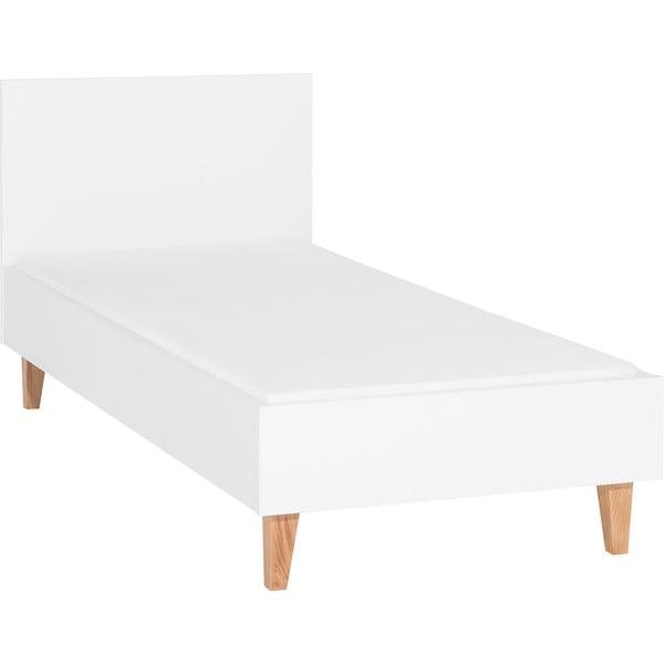 Bílá jednolůžková postel Vox Concept, 90x200cm
