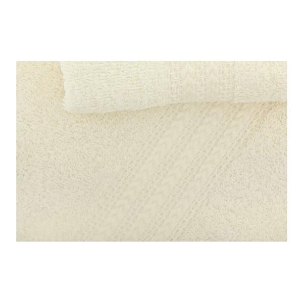 Sada 3 krémových ručníků Rainbow