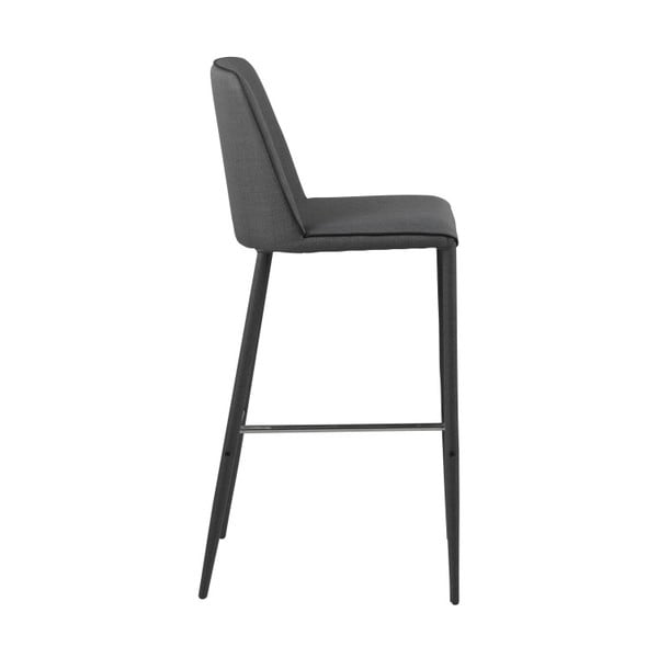 Tmavě šedá barová židle Actona Assila