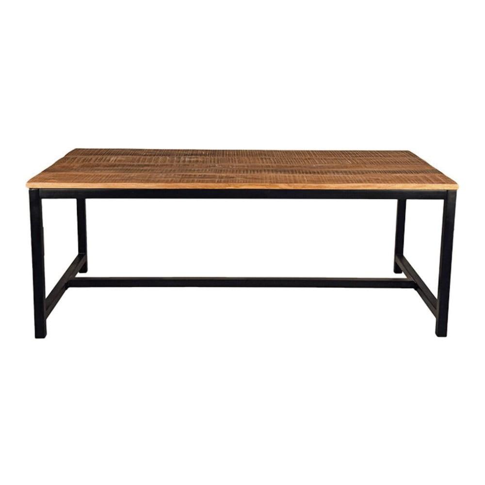 Jídelní stůl s deskou z mangového dřeva LABEL51 Brussel, 200 x 90 cm