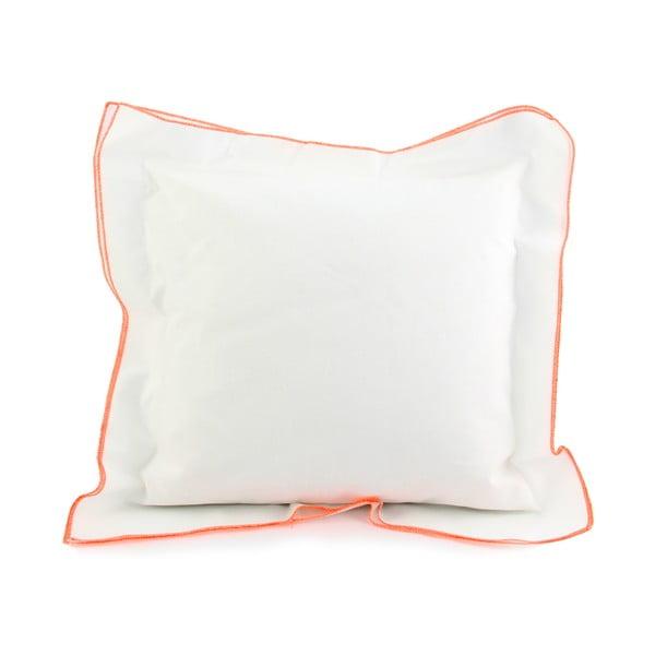 Povlak na polštář Basic Fluor orange, 40 x 40 cm