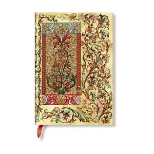 Zápisník s tvrdou vazbou Paperblanks Tuscan Sun, 13x18cm