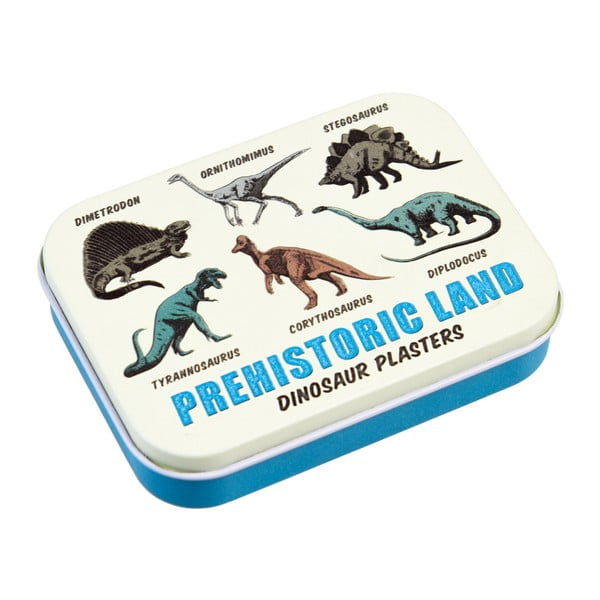 Set plasturi în cutie Rex London Prehistoric Land