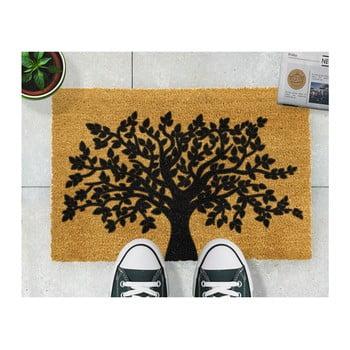Covoraș intrare din fibre de cocos Artsy Doormats Tree of Life, 40 x 60 cm de la Artsy Doormats
