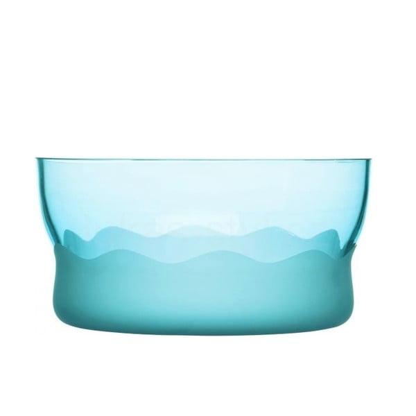 Tyrkysová mísa Sagaform Aqua Wave