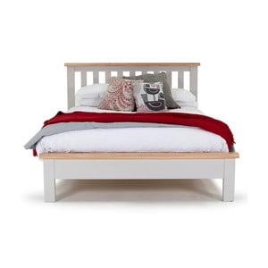 Dvojlůžková postel z akáciového dřeva Vida Living Clemence