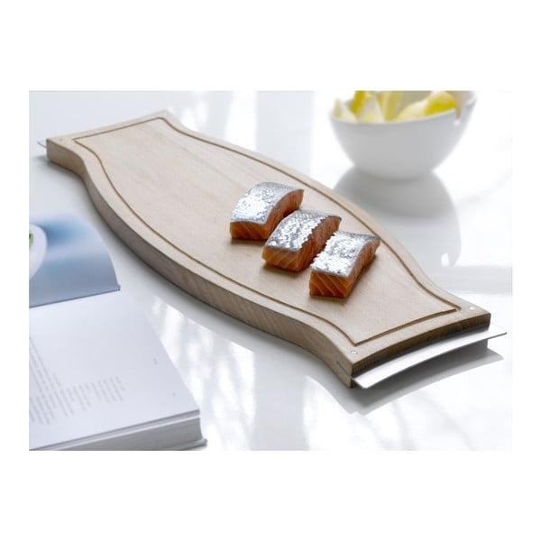 Dřevěné prkýnko Steel Function Capri