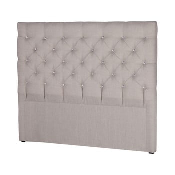 Tăblie pentru pat Stella Cadente Maison Pegaz, 160 x 118 cm, gri deschis de la Stella Cadente Maison