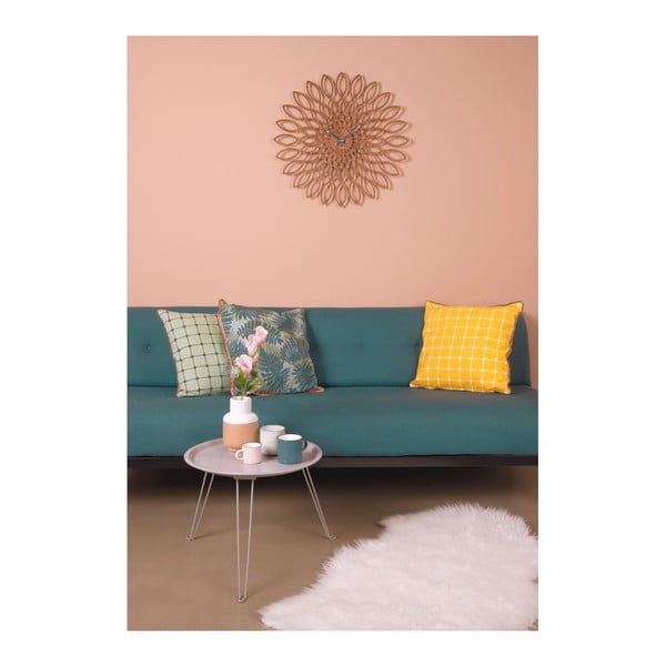 Polštář s výplní Tiles Yellow, 45x45 cm