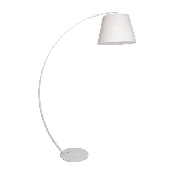 Biała lampa stojąca SULION Lupano