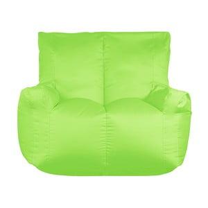 Zelený sedací vak pro dva Sit and Chill Coron