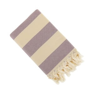 Prosop Hammam Stripe, 150 x 90 cm, violet