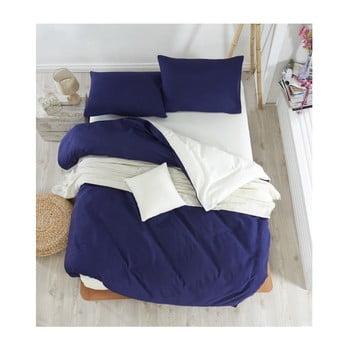 Lenjerie de pat cu cearșaf Permento Paluma, 200 x 220 cm de la EnLora Home