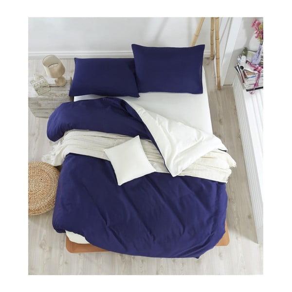 Lenjerie de pat cu cearșaf Permento Paluma, 200 x 220 cm