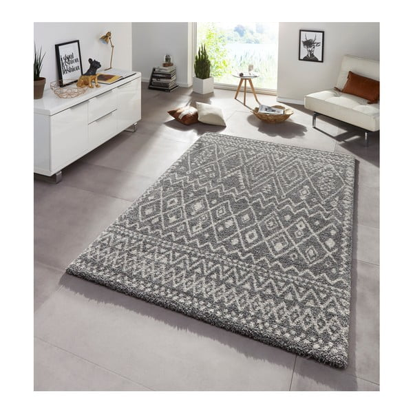 Šedý koberec Mint Rugs Chloe, 133 x 195 cm