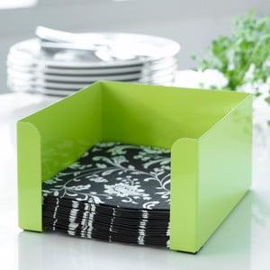 Zelený boxna ubrousky Steel Function
