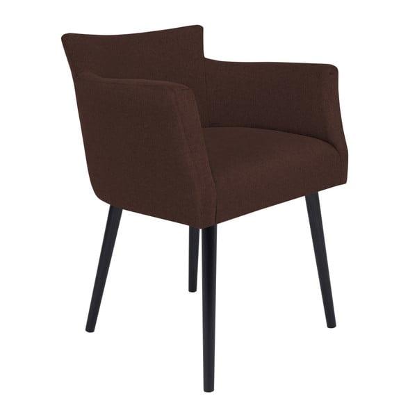 Gemini sötétbarna szék karfával - Windsor & Co Sofas
