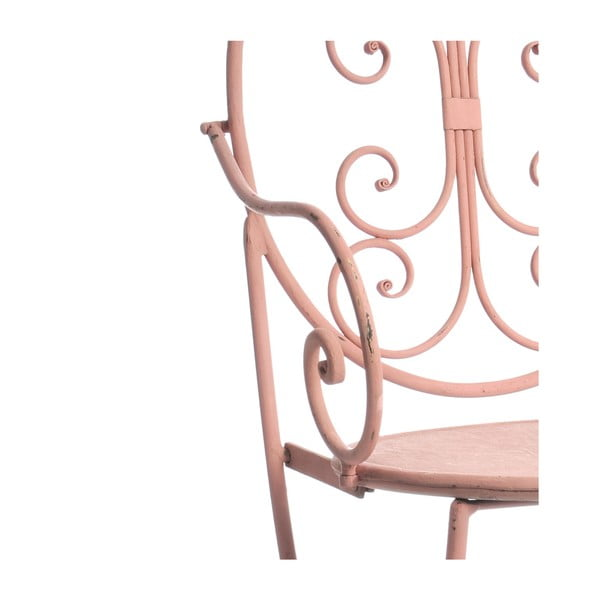 Kovová židle Pinkie