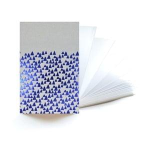 Modrý zápisník Mon Petit Art Accordeon