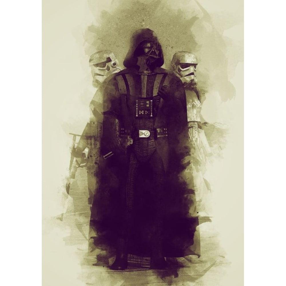 Plakát Blue-Shaker Star Wars 7, 30 x 40 cm
