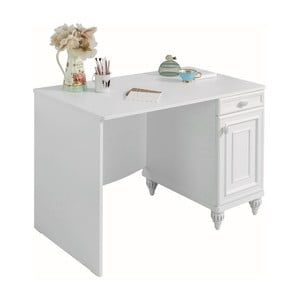 Bílý pracovní stůl Romantica Study Desk