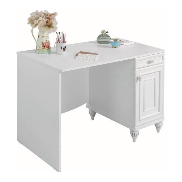 Romantica Study Desk fehér íróasztal