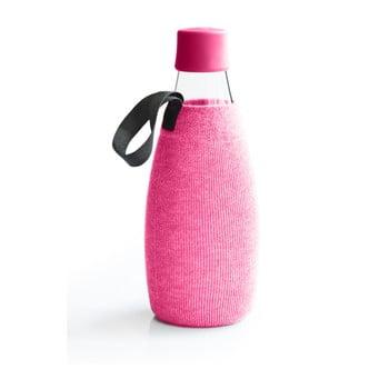 Husă pentru sticlă cu garanție pe viață ReTap, 800 ml, roz de la ReTap
