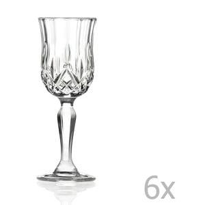 Sada 6 sklenic na sekt RCR Cristalleria Italiana Luciana
