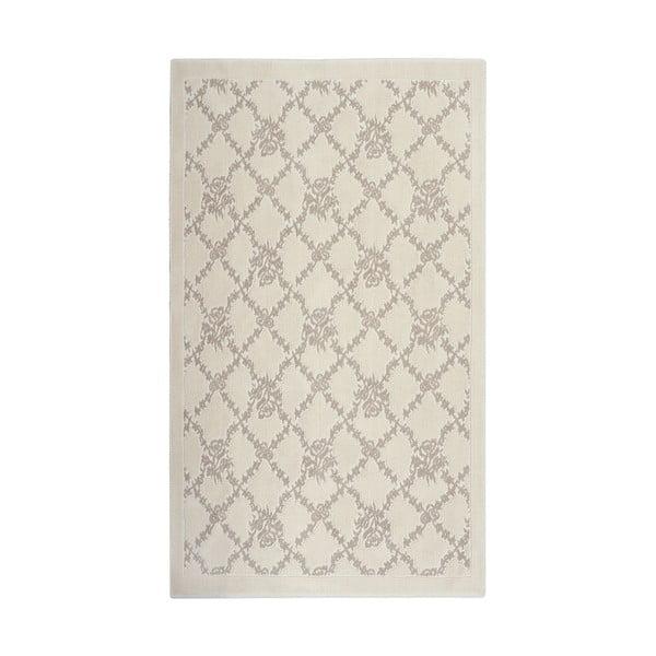 Hnědý bavlněný koberec Floorist Sarmasik, 100x200cm