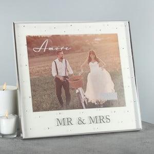 Rámeček na fotografii Amore Mr. and Mrs, profotografii20x25cm