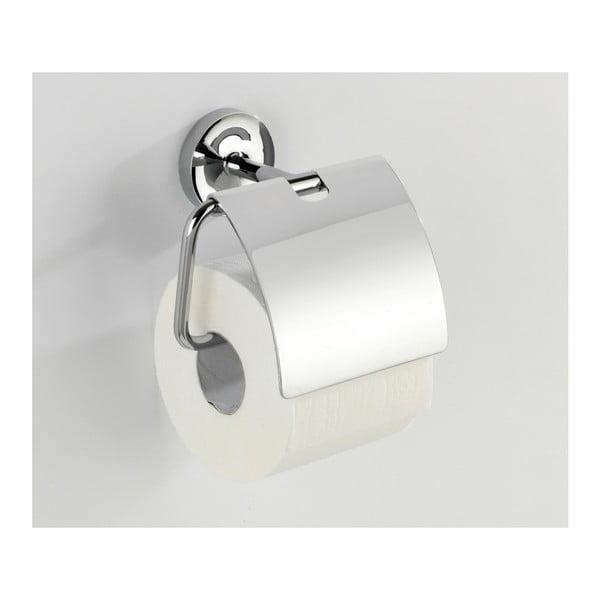 Samodržící stojan s krytkou na toaletní papír Wenko Power-Loc Arcole