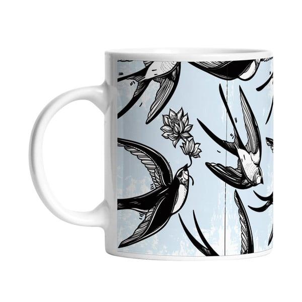 Keramický hrnek Swallow Bird, 330 ml