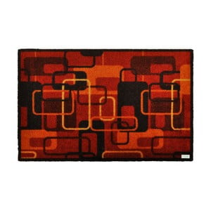 Červená rohožka Zala Living Design Retro Red Terra, 120x200cm
