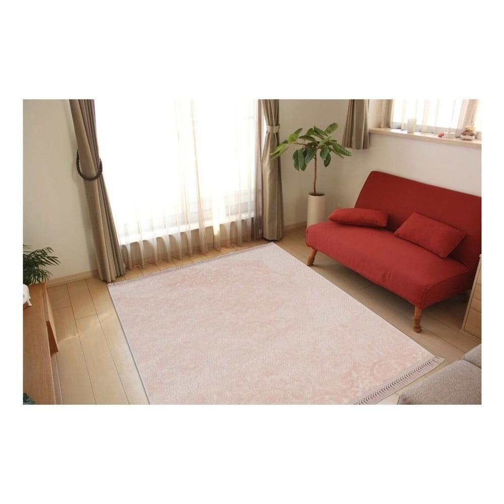 Růžový koberec Armada Nevra,180x120cm