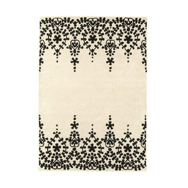 Vlněný koberec Guild White 160x230 cm
