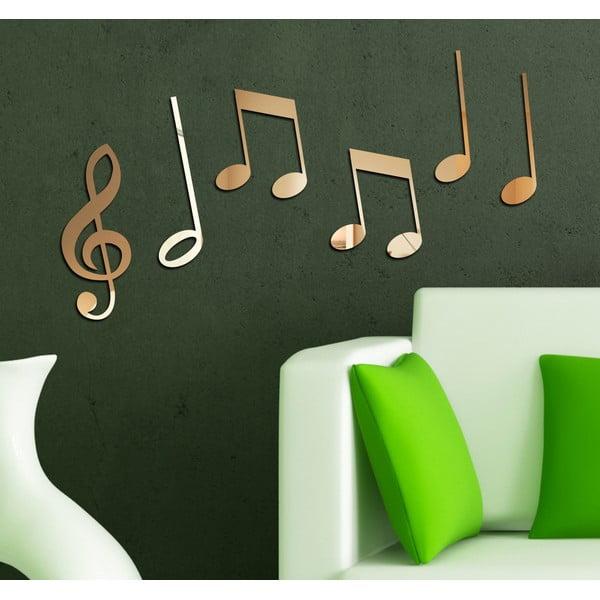 Dekorativní zrcadlo Hudba