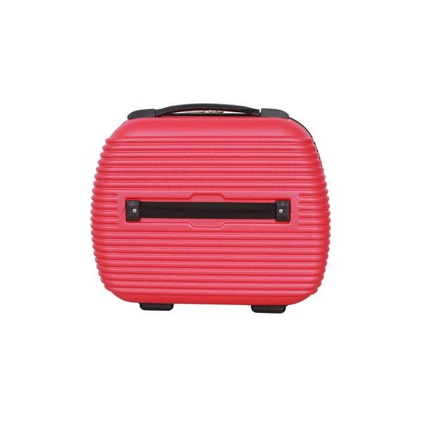 Kufr s příručním zavazadlem Case Jean Louis Scherrer Red