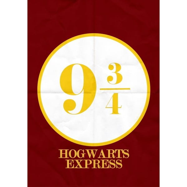 Harry Potter 4 poszter, 30 x 40 cm - Blue-Shaker
