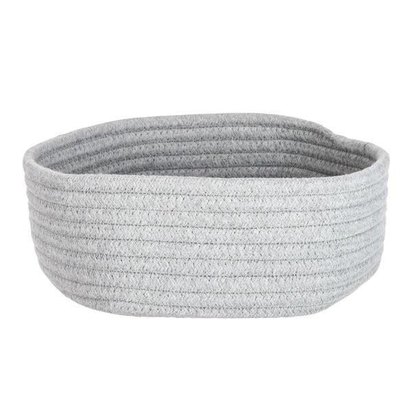 Koš Cotton Grey, 26x24 cm