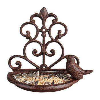 Hrănitor fontă pentru păsări Esschert Design, lățime 18,3 cm de la Esschert Design
