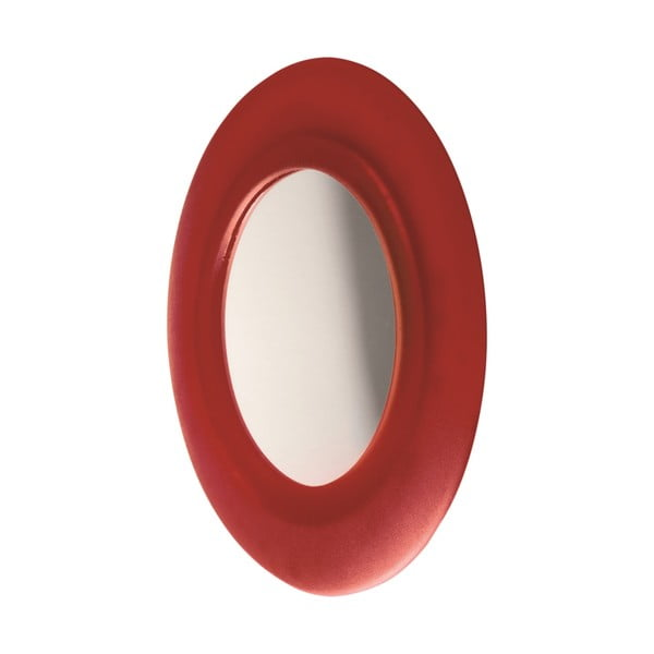Samodržící zrcadlo Miembrame, červené