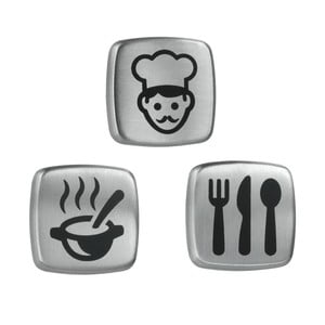 Sada 3 magnetů Metaltex Kitchen