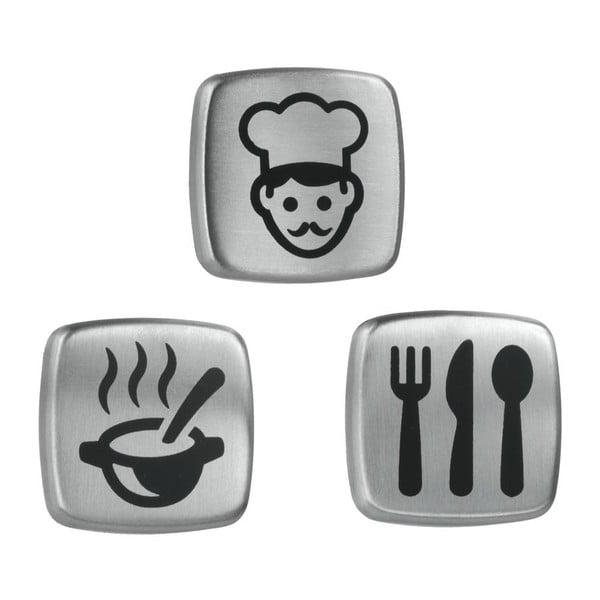 Set de 3 magneți Metaltex Kitchen