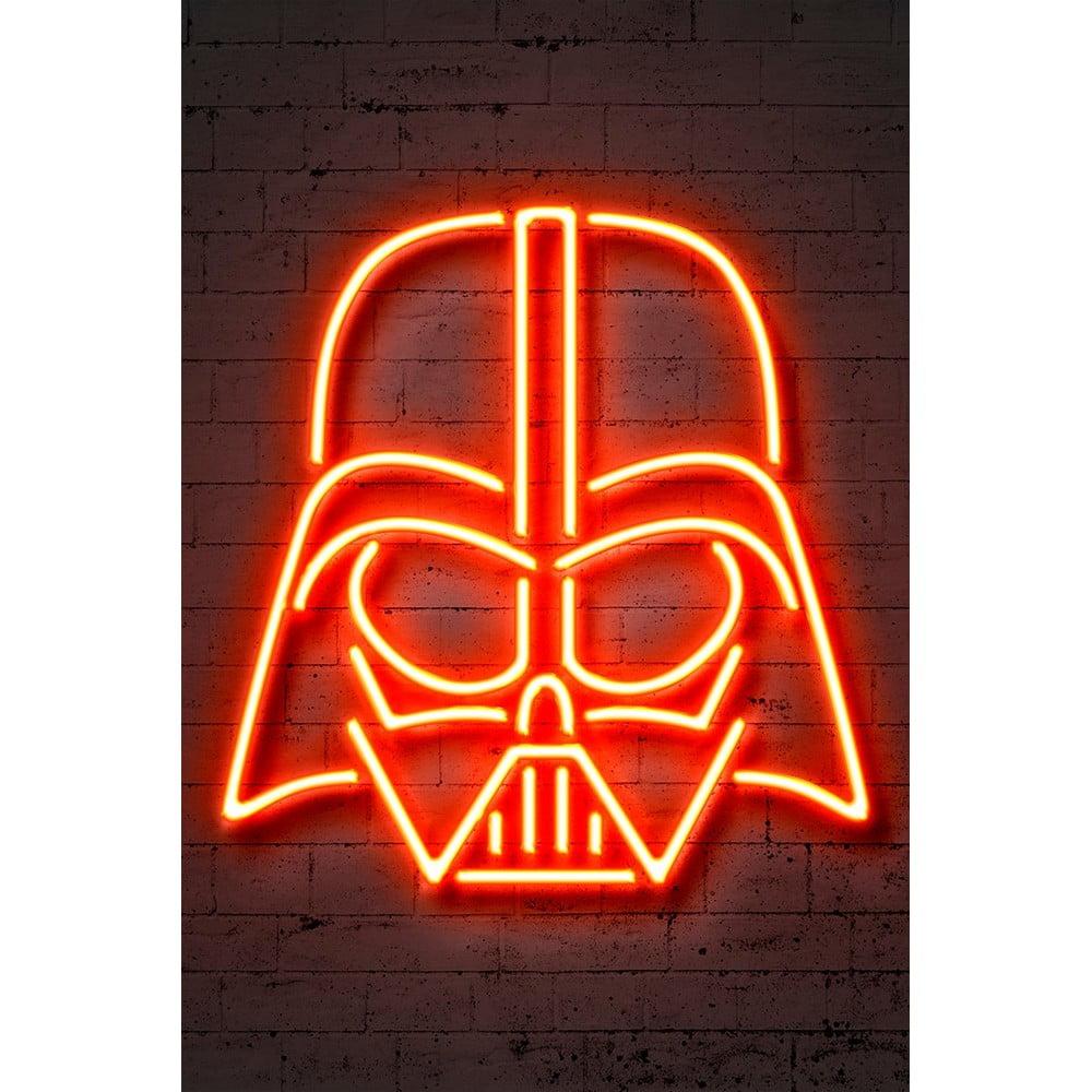Plakát Blue-Shaker Neon Art Vader, 30 x 40 cm